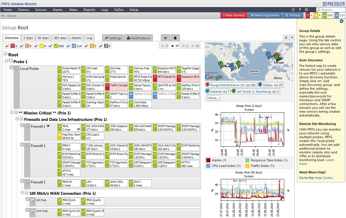 آموزش نصب و راه اندازی نرم افزار مانیتورینگ PRTG Network Monitor